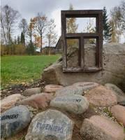 No piemiņas akmens strāvo spēks
