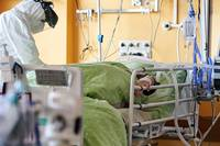 Kovidslimnieku smagā stāvoklī Liepājā nav