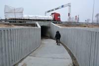 Tunelis zem Rīgas šosejas Grobiņā jauns, kaites – vecās