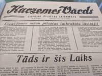 """Vēstures līkloči """"Kurzemes Vārdā"""": Noziegumi, kuru atklāšanā panākumu nav"""