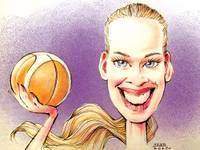 Basketboliste Rūta Stiprā komandas meitenes motivē ar savu sniegumu un pašatdevi