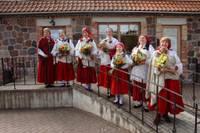 Nīcas novada pašvaldība ar pateicību sveic Nīcas etnogrāfisko ansambli 100 gadu jubilejā