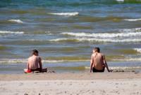 Otrdienas pēcpusdienā Liepājā un Pāvilostā gaisa temperatūra pakāpusies līdz +28 grādiem