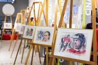 Liepājas mākslinieka Vilņa Bulava gleznotie sportistu portreti nonāk Latvijas Sporta muzeja ekspozīcijā