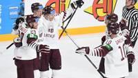 Latvijas hokeja izlase pasaules čempionāta ievadā izcīna vēsturisku uzvaru pār Kanādu