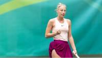 Špaka Viļņā pirmoreiz sasniedz ITF turnīru ceturtdaļfinālu