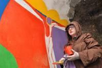 Redāna sienu stāsti. Karostas festivāla plenēra dalībnieku darbi būs aplūkojami visu vasaru