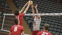 Latvijas volejbolisti četru setu cīņā piekāpjas beļģiem