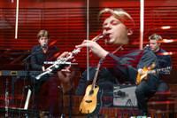 """Foto: Koncertsarunu ciklā """"Tuvāk"""" – klarnetists un grupas """"Sudden Lights"""" līderis Andrejs Reinis Zitmanis"""