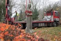 Joprojām nav atrisināts Kārļa Zāles karavīra skulptūras aizvietošanas jautājums