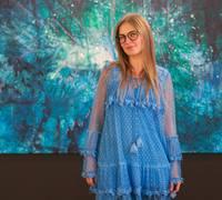 Liepājas muzejā skatāma spilgtās latviešu mākslinieces Kristīnes Kutepovas personālizstāde