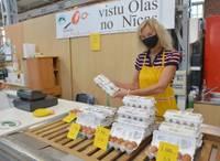 """Pēc vairāk nekā gada darbību un olu ražošanu atsācis uzņēmums """"Nīckrasti"""""""