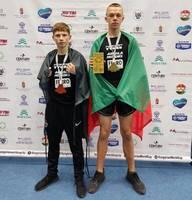 Liepājas jaunajiem kikbokseriem sasniegumi pasaules līmeņa sacensībās