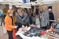 Foto: Amatnieku tirdziņš Miķeļdienas noskaņās