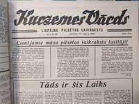 """Vēstures līkloči """"Kurzemes Vārdā"""": Pilsonis I. atņem pilsonim S. bikses"""