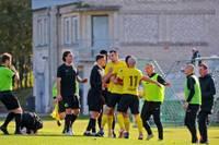 """FK """"Karosta"""" dramatiskā cīņā piekāpjas valmieriešiem"""