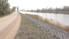 Apšauba Bārtas upes dambja stiprinājuma kvalitāti