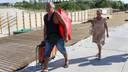 Сделанное по благоустройству выходов к пляжу по-настоящему можно будет оценить только осенью