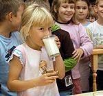 Акцент – чтобы дети питались полезно