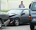 Три аварии на перекрестке улиц Аду и Бариню
