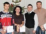 Получили сертификаты знатоков вин