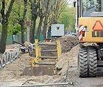 Реконструируют коллектор на улицах Пелду и Дзинтару