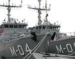 Новые военные корабли будут участвовать в первых учениях