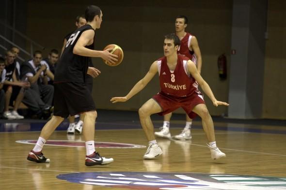 Игра Кубка Балтии по баскетболу среди юношей U-18 Латвия — Литва