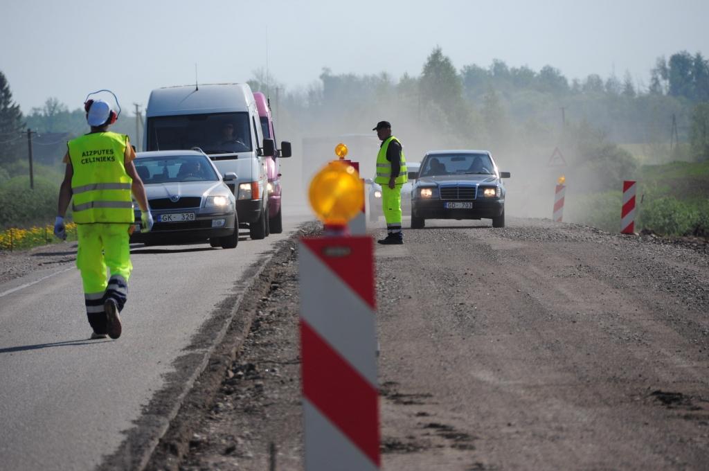 Ограничения движения на время строительных работ