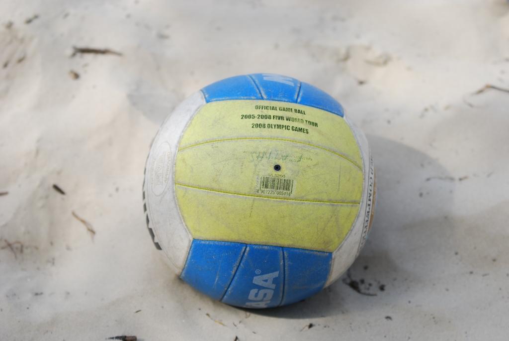 Пляжный волейбол в дюнах