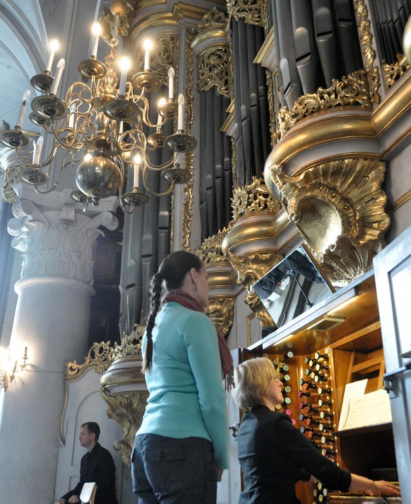 Музыкальная азбука органа