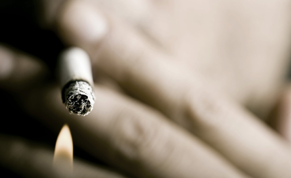 Гоняют курильщиков