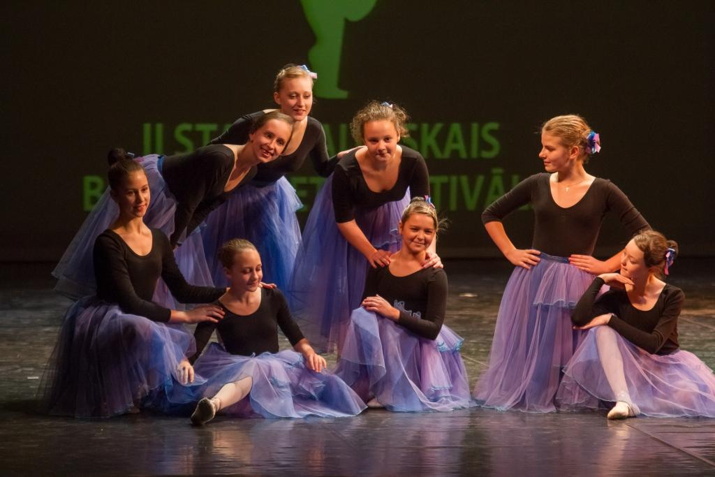 Концерт завершения II Международного фестиваля детского балета