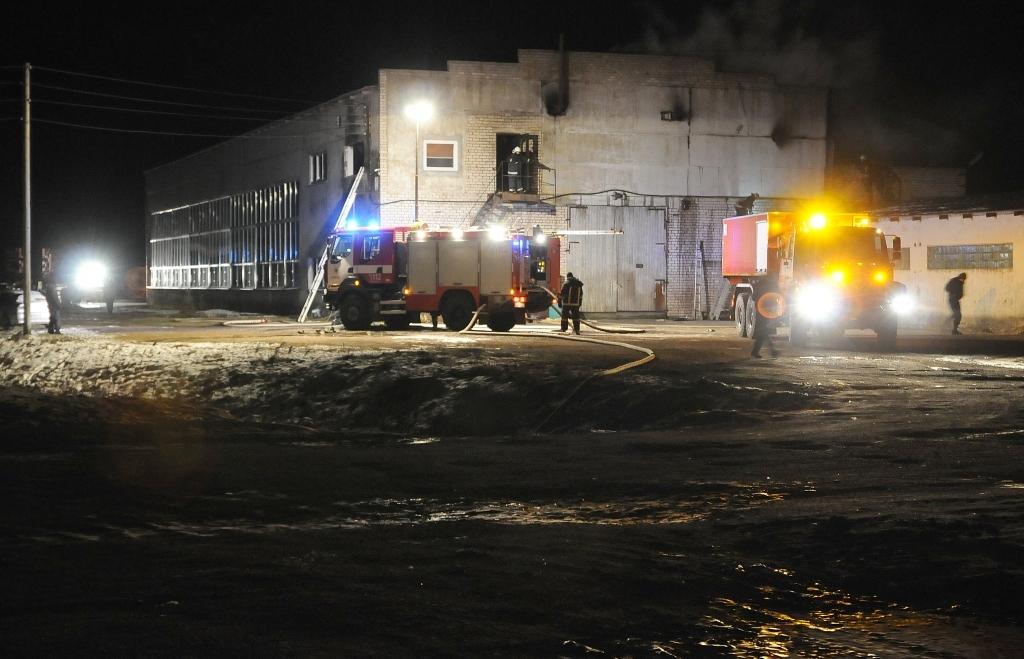 В Нице в мастерских выгорело 130 квадратных метров