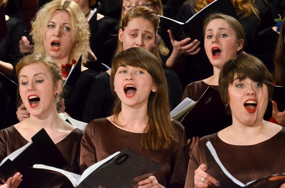 Концерт студетческих хоров