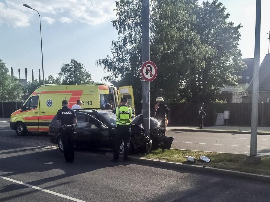 В аварии на улице Ганибу пострадали люди