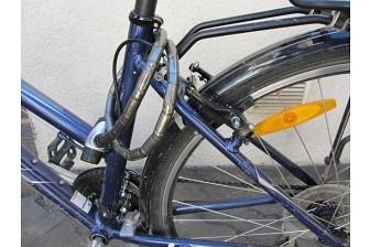 Сбил велосипедиста и скрылся