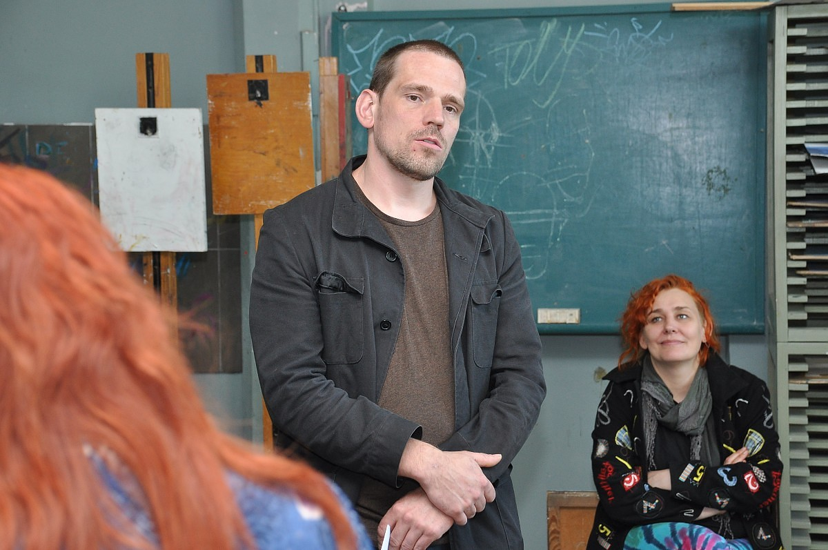 В училище искусства гостит лауреат премии Пурвитиса