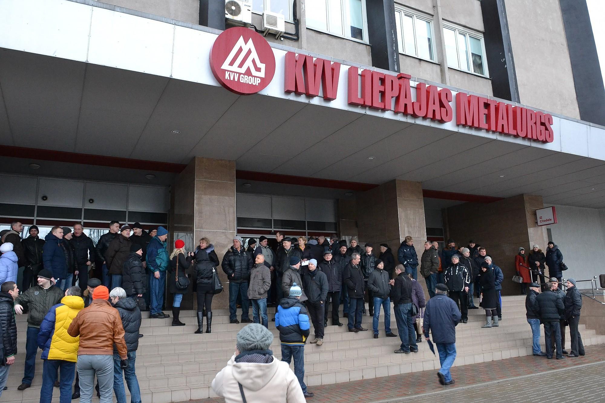 В ГАЗ зарегистрировались 202 бывших сотрудника «КВВ Лиепаяс металургс»