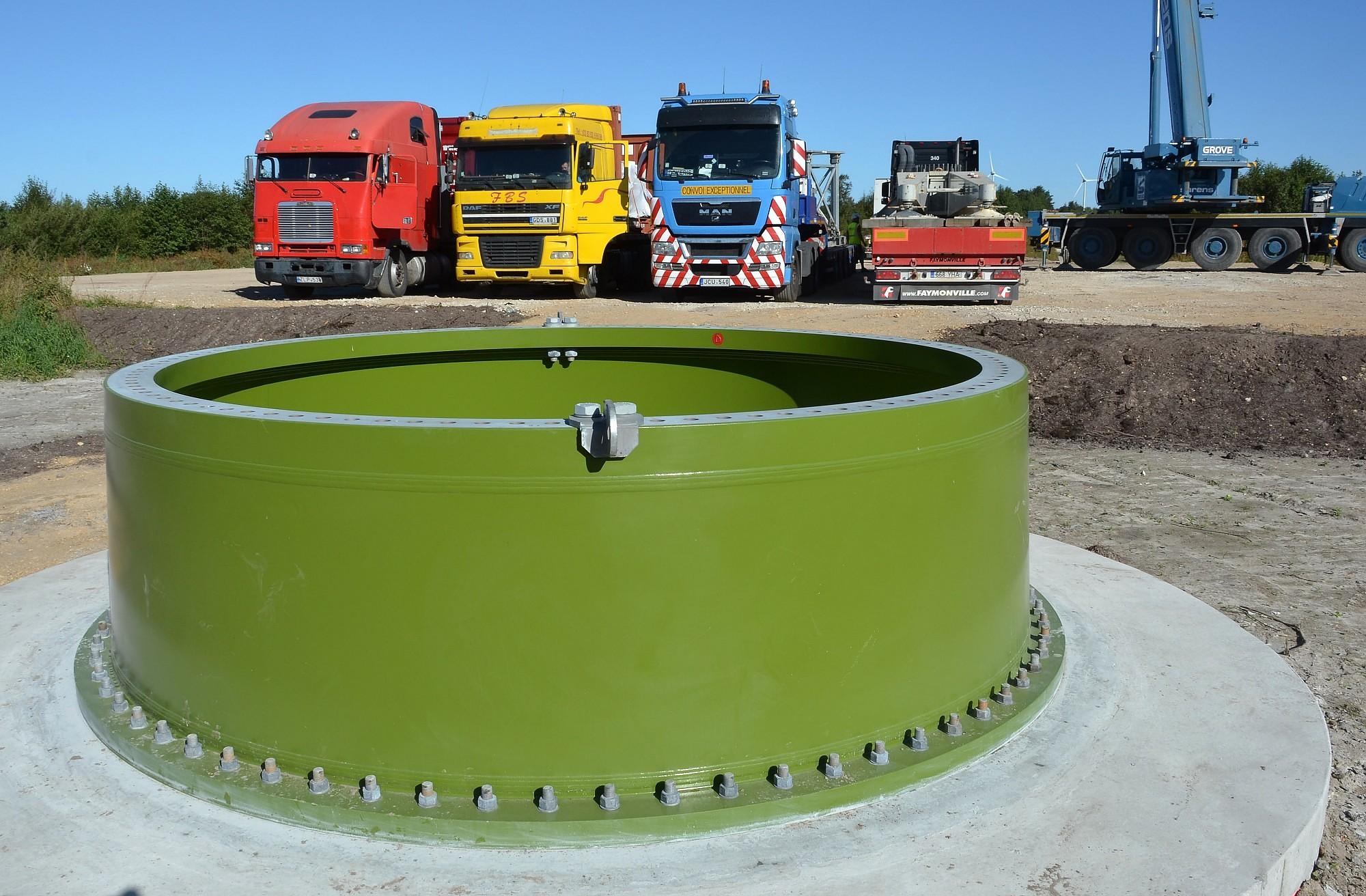 В ветряные генераторы в Шкеде вкладывают миллионы