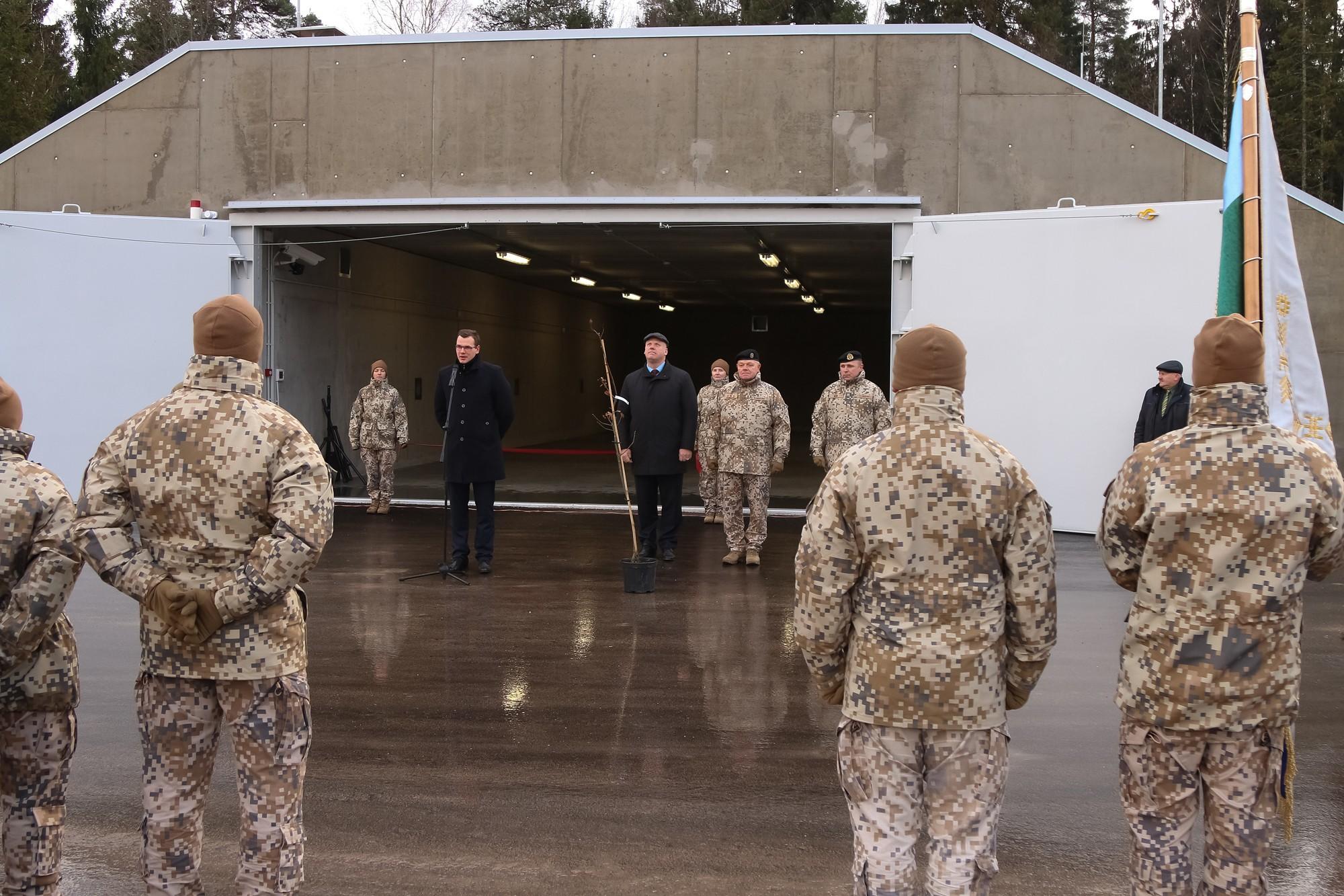 Открыт комплекс складов боеприпасов