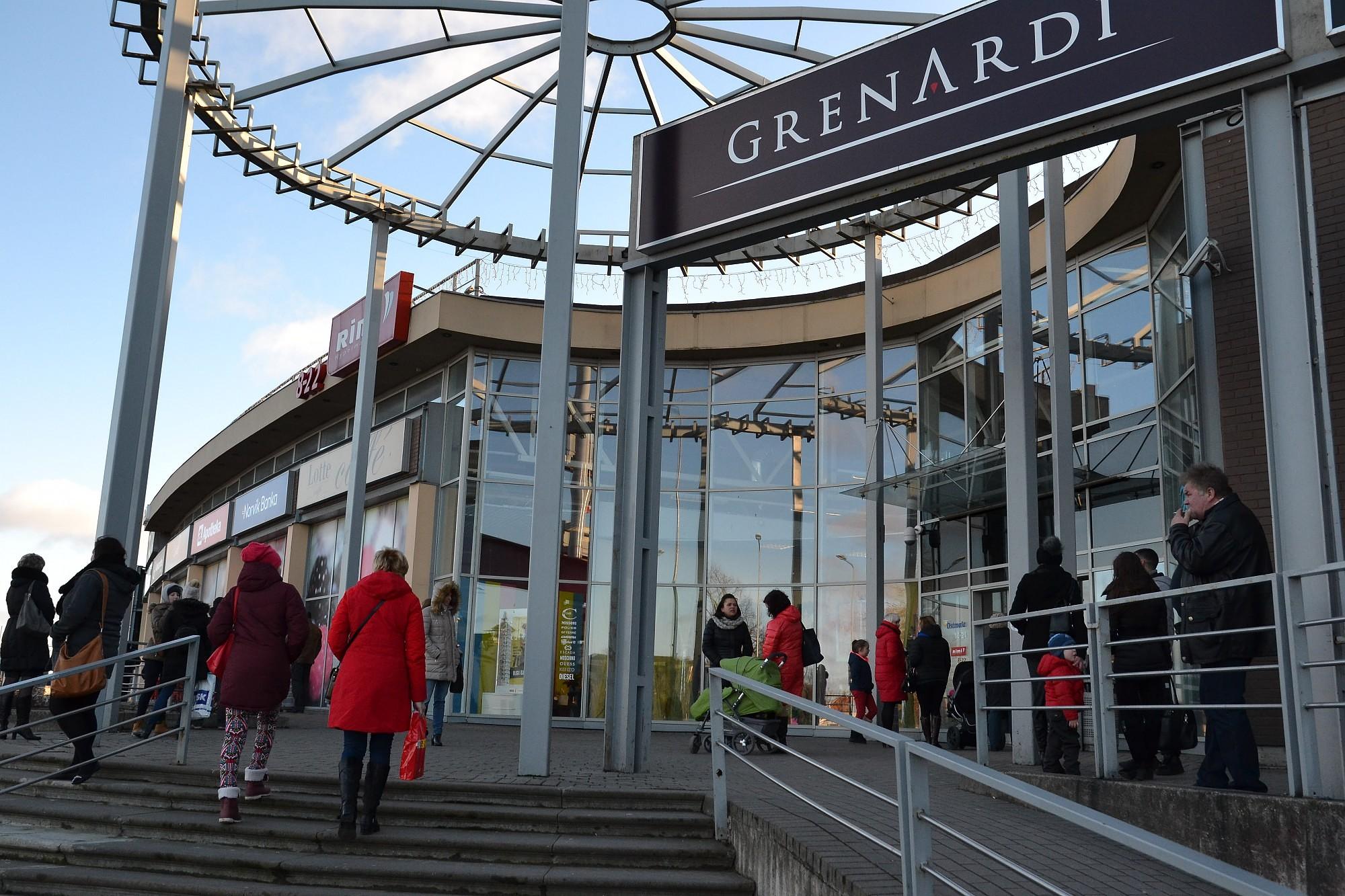 «Rimi Latvia»: тревожная сигнализация в торговом центре «Ostmala» сработала по ошибке