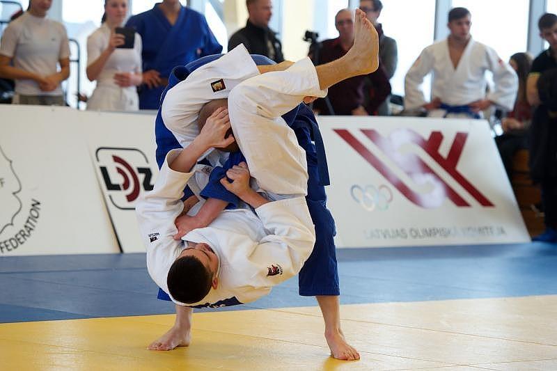 Успехи молодых дзюдоистов в Риге