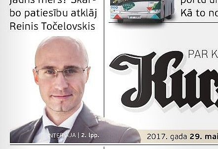 К черной PR-кампании приписали идентичность газеты «Курземес Вардс»
