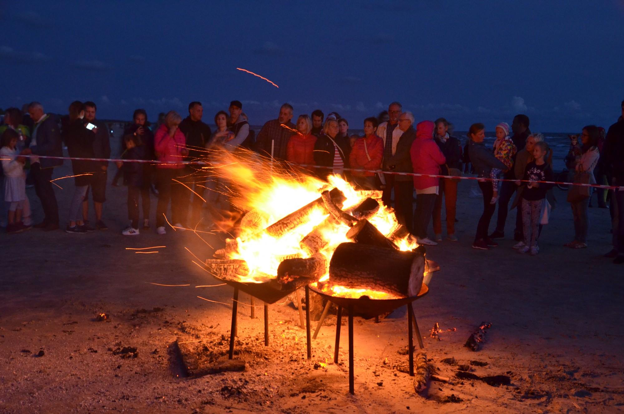 """Фестиваль """"Via Baltica"""" завершился Ночью древнего огня"""