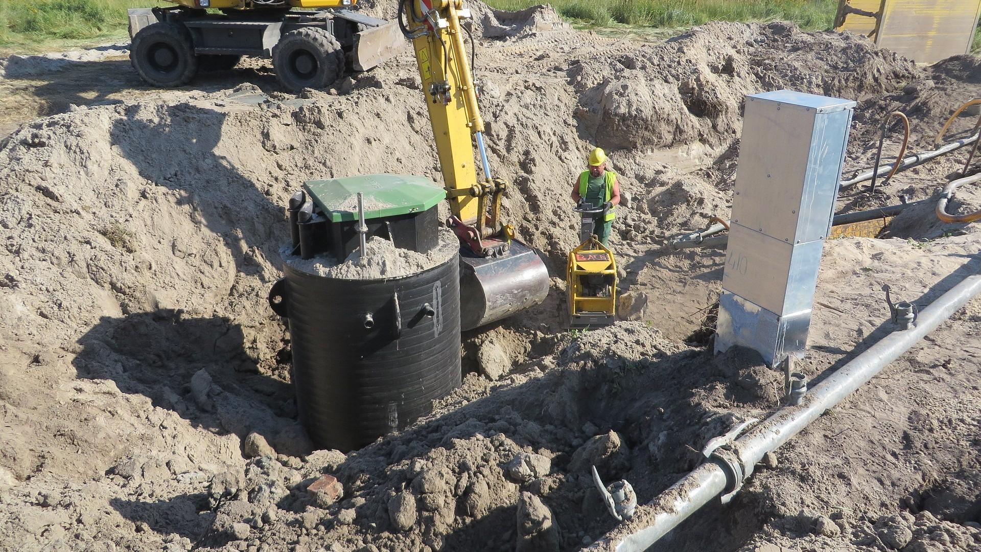 Новые объекты в канализационной системе