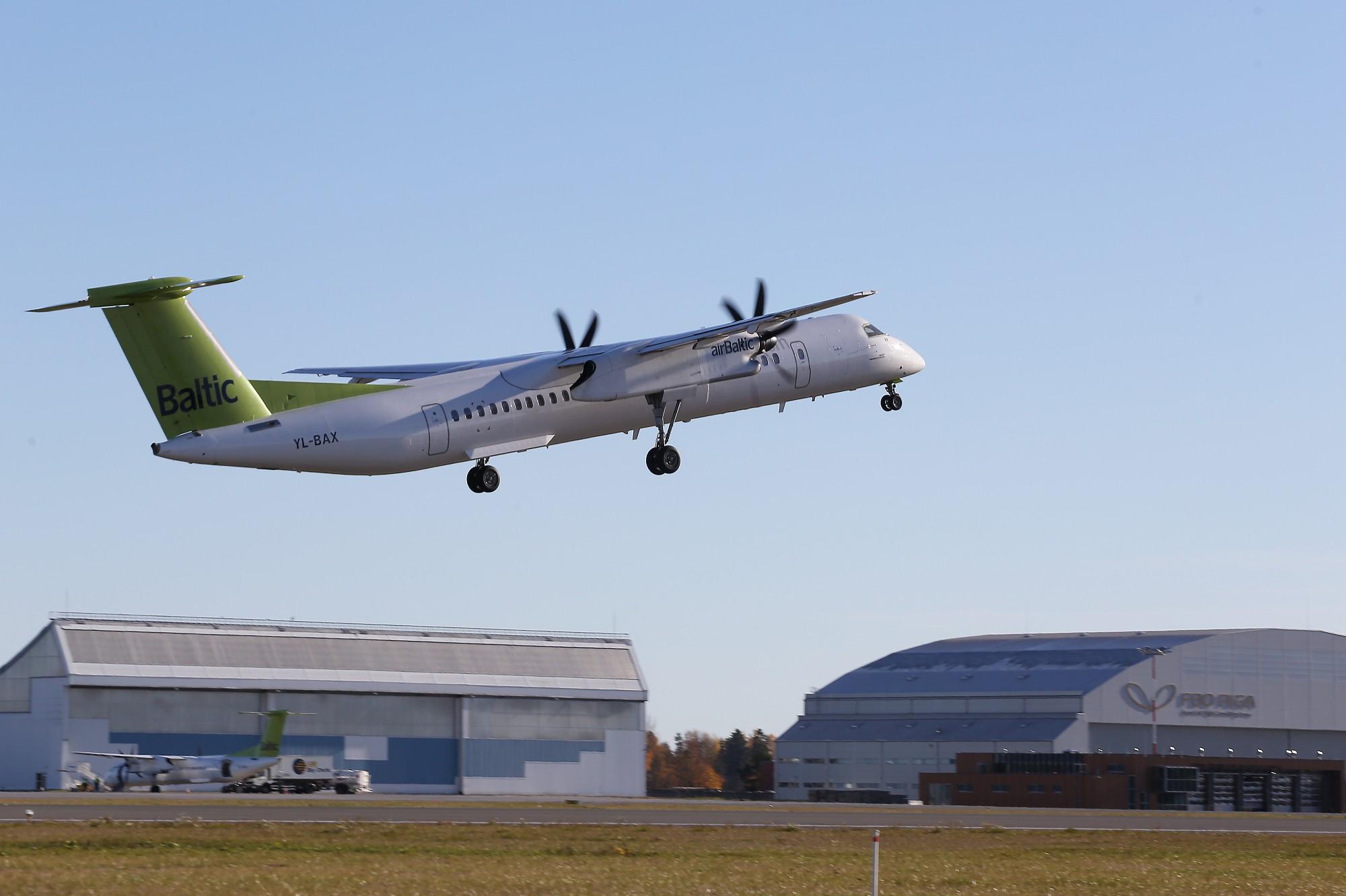 «airBaltic» признана самой пунктуальной авиакомпанией в мире