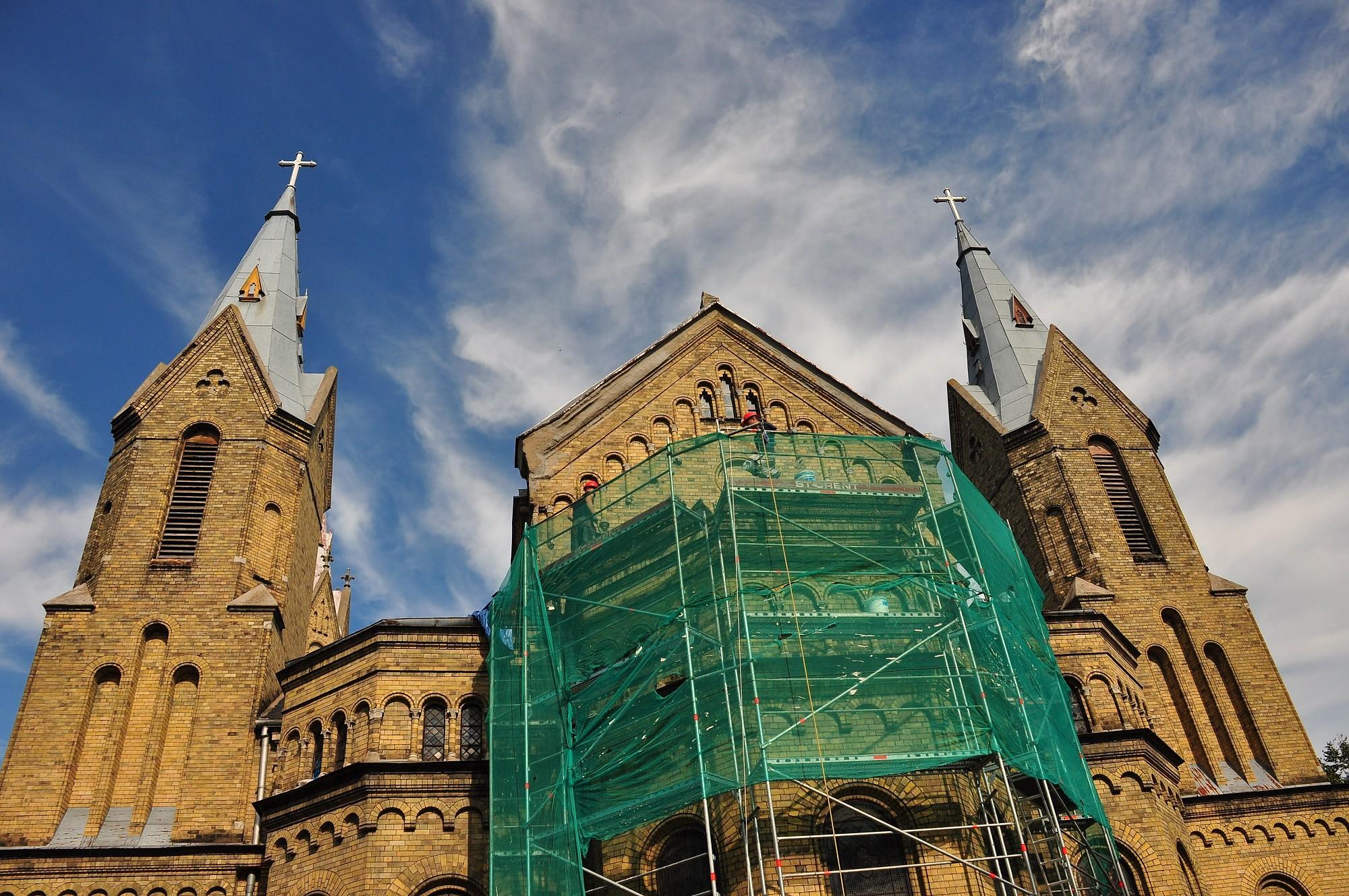 Будут ремонтировать кровли храмов