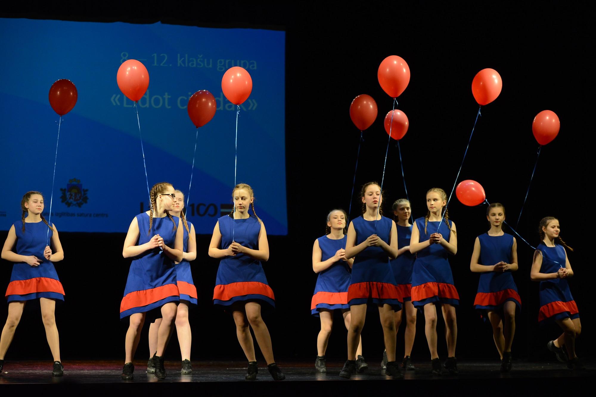 Состоялся конкурс современных танцев