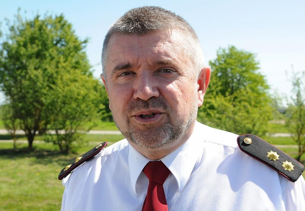 У Курземской региональной бригады ГПСС – новый командир